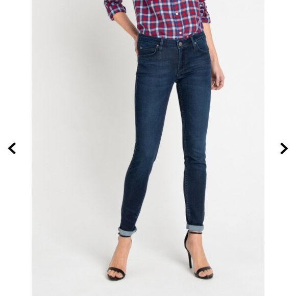 world-wide selection of quality buying now Lee Scarlett Skinny Jeans- Special Edition Print